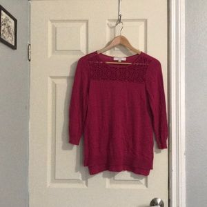 Ann Taylor Loft spring sweater